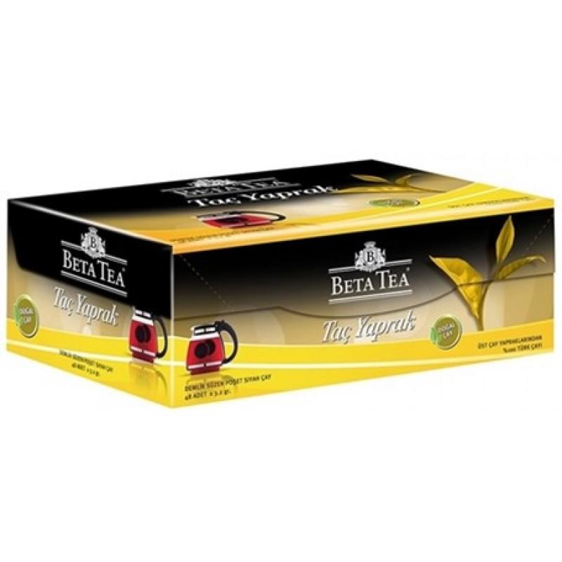 Beta Taç Yaprak Demlik Poşet Çay 48 x 3,2 GR